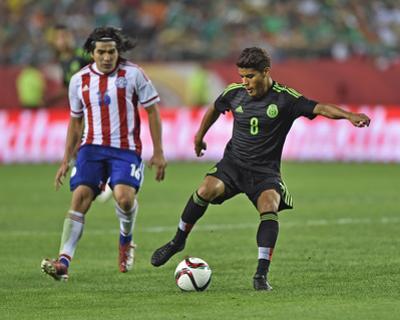 Soccer: Mexico Vs Paraguay by Peter G Aiken