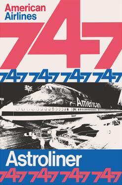 Boeing 747 Astroliner - American Airlines by Peter Gee