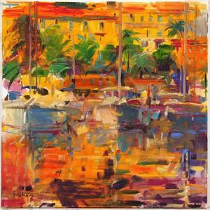 Cote d'Azur Reflections by Peter Graham