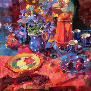 Devon Morning by Peter Graham