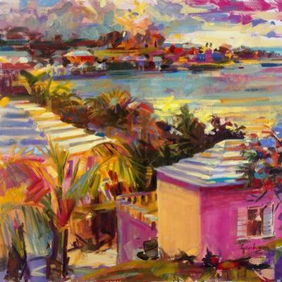 Dusk Reflections, Bermuda, 2011 by Peter Graham