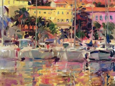 Golden Harbour Vista by Peter Graham