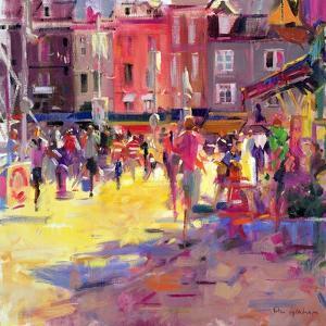 Honfleur Promenade by Peter Graham