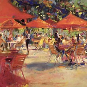 Le Cafe Du Jardin by Peter Graham