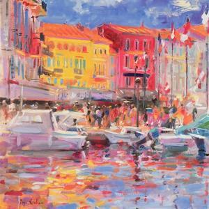 Le Port De St Tropez, 2002 by Peter Graham
