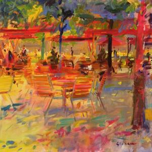 Lunch on the Terrace by Peter Graham