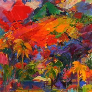 Paysage Polynesien, 2011 by Peter Graham
