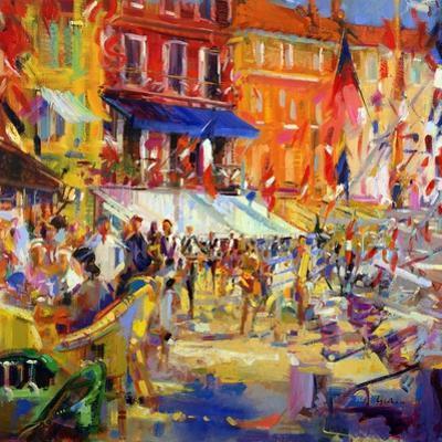 Port Promenade, Saint-Tropez by Peter Graham
