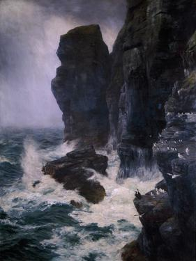Ribbed and Paled in by Rocks Unscaleable, 1885 by Peter Graham