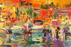 Riviera Harbour Sun by Peter Graham