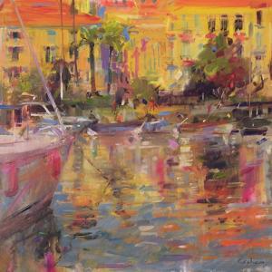 Riviera Moorings by Peter Graham