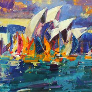 Sydney Flying Colours, 2012 by Peter Graham