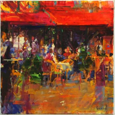 Table at Villefranche by Peter Graham