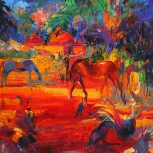 Tahiti Pastoral, 2011 by Peter Graham