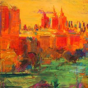 The Upper West Side, 2011 by Peter Graham