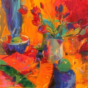 Tulips, 2012 by Peter Graham