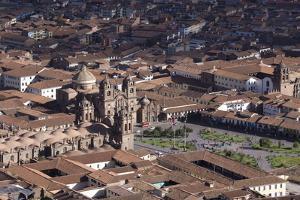 Aerial View of Cusco by Peter Groenendijk