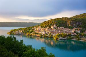 Bauduen Village, Lac De Sainte-Croix, Gorges Du Verdon, France, Europe by Peter Groenendijk
