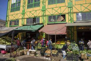 Central Market, Valparaiso, Chile by Peter Groenendijk