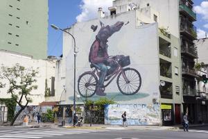 Fun Graffiti, San Telmo, Buenos Aires, Argentina by Peter Groenendijk