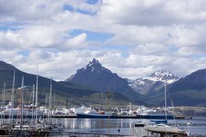 Harbour, Ushuaia, Tierra Del Fuego, Argentina by Peter Groenendijk