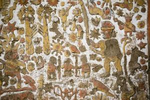 Huaca del sol y de la Luna, Moche civilisation, Peru, South America by Peter Groenendijk