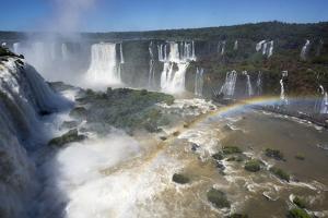 Iguacu Falls, Iguacu National Park, Brazil by Peter Groenendijk
