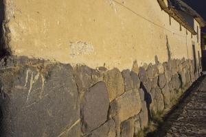 Inca Wall in Ollantaytambo, Peru, South America by Peter Groenendijk