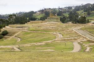 Ingapirca, Inca ruins, Ecuador, South America by Peter Groenendijk