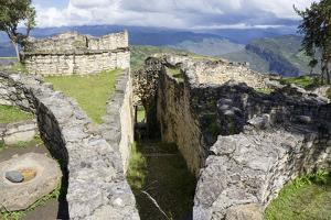 Kuelap, precolombian ruin of citadel city, Chachapoyas, Peru, South America by Peter Groenendijk