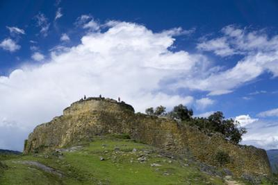 Kuelap, precolombian ruin of citadel city, Chachapoyas, Peru, South America by Peter Groenendijk
