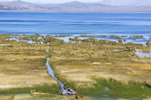 Lake Titicaca, Peru by Peter Groenendijk