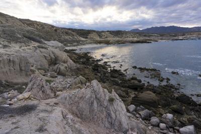 Las Serenitas, wind and wave erosion sculptures, Cabo Pulmo, UNESCO World Heritage Site, Baja Calif by Peter Groenendijk