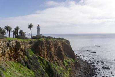 Point Vicente lighthouse, rancho Palos Verdes, California, United States of America, North America by Peter Groenendijk