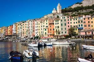 Porto Venere, Cinque Terre, UNESCO World Heritage Site, Liguria, Italy, Europe by Peter Groenendijk