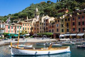 Portofino, Liguria, Italy, Mediterranean, Europe by Peter Groenendijk
