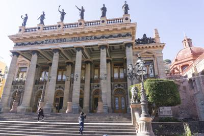 Teatro Juarez, Guanajuato, UNESCO World Heritage Site, Mexico, North America by Peter Groenendijk