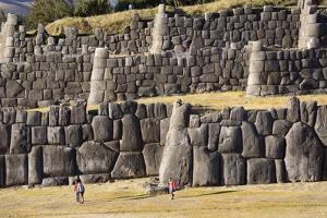 The Inca Ruins of Sacsayhuaman, UNESCO World Heritage Site, Peru, South America by Peter Groenendijk