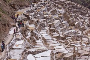 The Salt Mines of Las Salinas De Maras by Peter Groenendijk