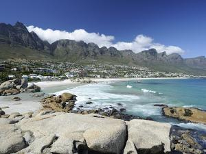 The Twelve Apostles, Camps Bay, Cape Town, Cape Province, South Africa, Africa by Peter Groenendijk