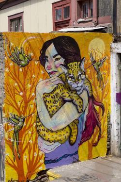 Wonderful Graffiti, Valparaiso, Chile by Peter Groenendijk