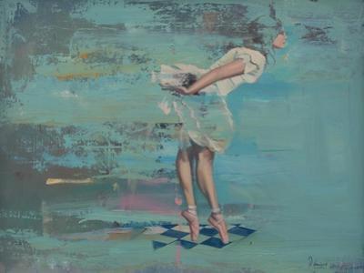 En Pointe by Peter Hawkins