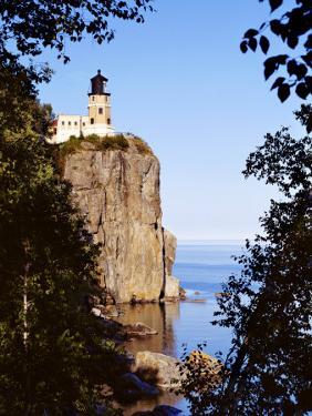 Split Rock Lighthouse, Two Harbors, Lake Superior, Minnesota by Peter Hawkins
