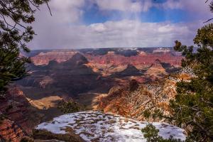 USA, Arizona, Grand Canyon National Park South Rim by Peter Hawkins