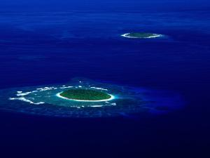 Aerial View of Vava'U Group, Tonga by Peter Hendrie
