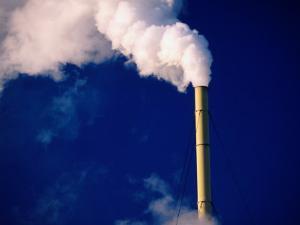 Smokestack, Melbourne, Australia by Peter Hendrie