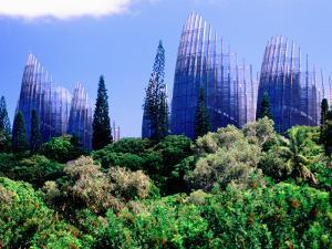 Tjibaou Arts and Cultural Centre, Noumea, South Province, New Caledonia by Peter Hendrie