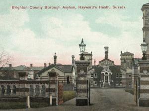 Brighton County Borough Asylum, Haywards Heath, Sussex by Peter Higginbotham