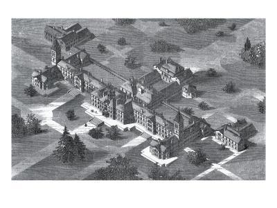 Carmarthen County Lunatic Asylum, South Wales