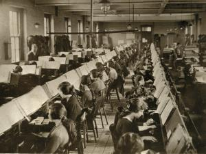 Census Tabulation in Former Lambeth Workhouse by Peter Higginbotham